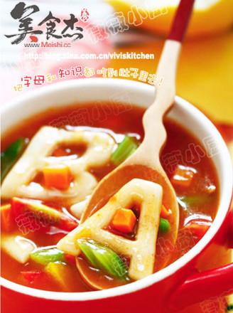 宝宝小疙瘩_蔬菜字母疙瘩汤的做法_蔬菜字母疙瘩汤怎么做_美食杰