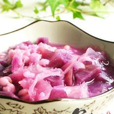 紫薯银耳薏米粥