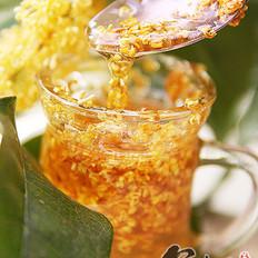 桂花酱+桂花蜜茶