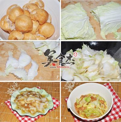 白菜炒油面筋+醋溜白菜lL.jpg