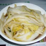 醋熘大白菜