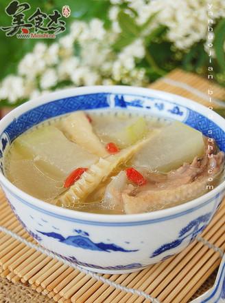 冬瓜扁尖老鸭汤的做法