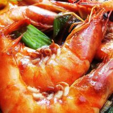 酱香焖虾的做法