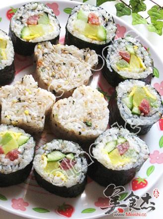 寿司的做法_家常寿司的做法【图】寿司的家常做法大全