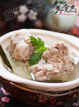 薏米排骨冬瓜汤的做法