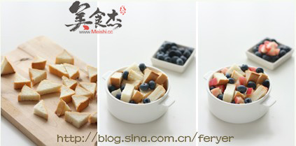 藍莓桃子面包布丁Fc.jpg