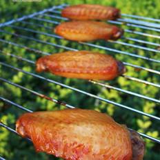 金牌BBQ烤鸡翅的做法