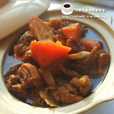 沙锅羊肉的做法