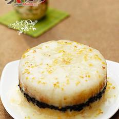 桂花双色糯米饭