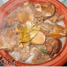 砂锅羊肉的做法