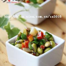 香炒蔬丁的做法