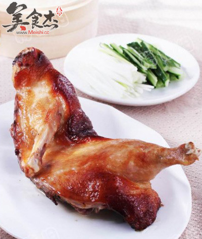 梅酱脆皮烤鸭的做法【步骤图】_菜谱_美食杰