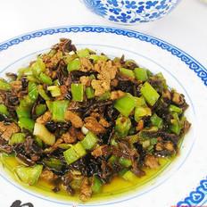 鸭米芽菜的做法