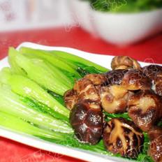 香菇扒菜心