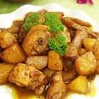 土豆咖喱鸡块