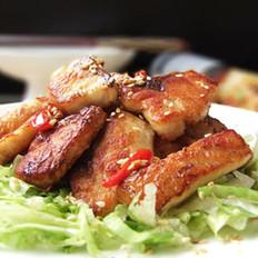 麻香满口干烧鱼块的做法