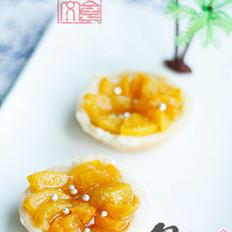 黄桃酥皮挞