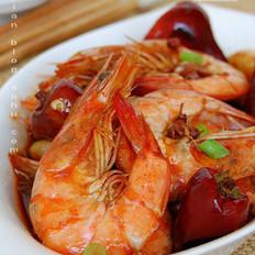 椒麻口水虾的做法