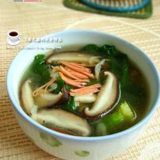 香菇青菜汤