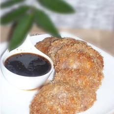 鲜虾芋头饼的做法