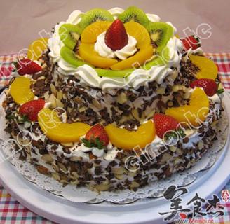 巧克力生日蛋糕的做法