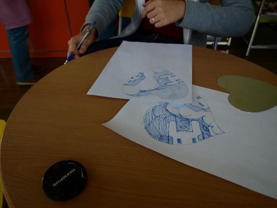 锡纸画制作方法