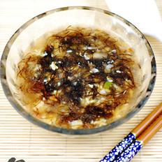 发菜香菇虾仁汤