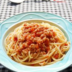 蕃茄肉酱意面的做法