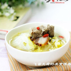 暖身羊肉汤的做法