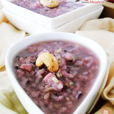 五彩米薏仁粥的做法
