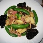 马蹄炒甜豆的做法