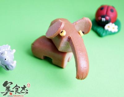 小朋友喜欢的可爱的火腿肠动物 美食专题 专辑菜谱