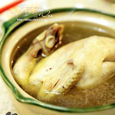 蒜子土鸡的做法