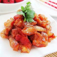 開胃菜:山楂炒肉片的做法