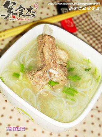 大白菜粉条炖排骨_排骨白菜汤的做法【步骤图】_菜谱_美食杰