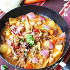 香辣羊肉锅的做法