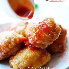 脆皮酿鸡翅的做法