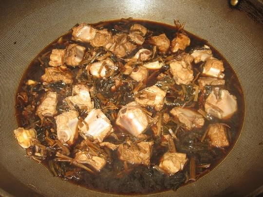 [菜谱换礼]梅干菜烧薏米薏米绿豆汤和红豆排骨图片