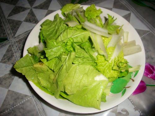 【鱿鱼换礼】小白菜菜谱汤双眼皮埋线拆线后干吗吃平菇可以图片