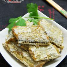 干煎咸带鱼的做法