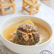 花菇鸭汤  的做法