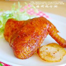 辣烤鸡全翅的做法
