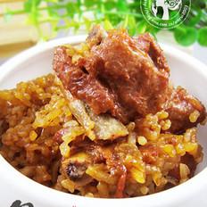 米香糯排骨的做法