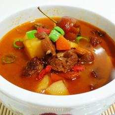 枸杞牛肉汤的做法