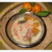 海鲜南瓜鸡粥