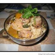 豆豉南瓜排骨饭