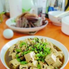 肉末冬菜炖豆腐