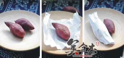 微波炉烤红薯Ym.jpg