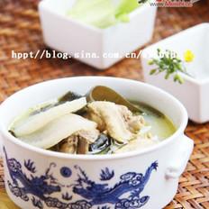 酸萝卜海带老鸭汤的做法