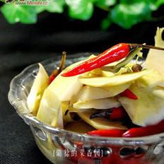 泡椒苤兰皮的做法